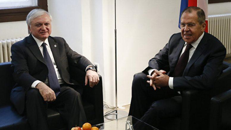 Главы МИД России и Армении обсудили двусторонние отношения и Карабах
