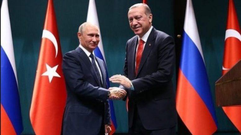 11.12.2017. В.В. Путин встретился с Р.Т Эрдоганом в Анкаре!