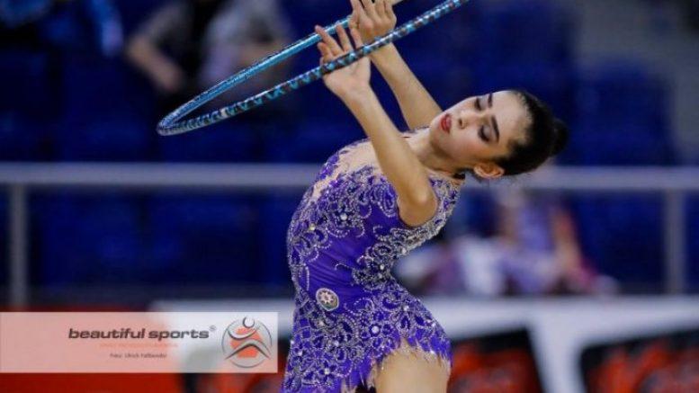 Азербайджанская гимнастка пробилась на Юношескую Олимпиаду