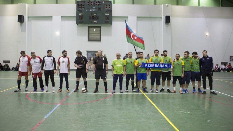 Команда посольства Азербайджана в России заняла второе место на соревнованиях по мини-футболу