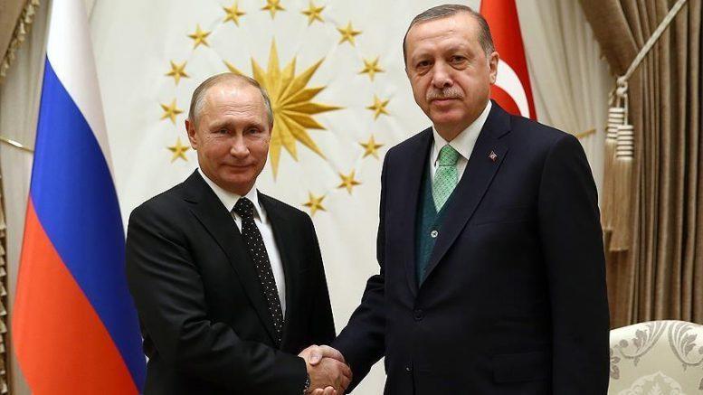 Эрдоган и Путин обсудили Сирию