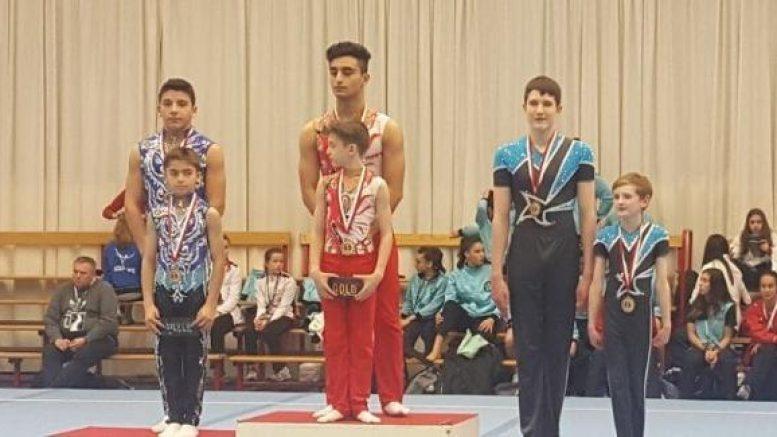 Гимнасты из Азербайджана взяли «золото» в Бельгии
