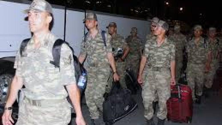 Более 100 турецких военнослужащих прибыли в Азербайджан