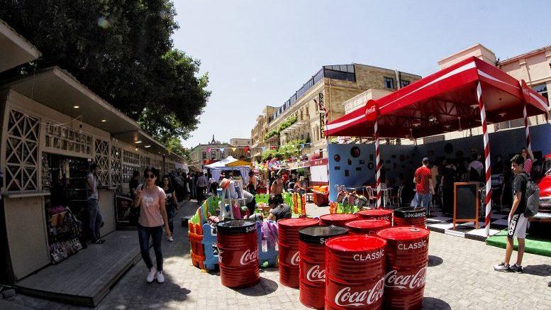 В Баку в Ичеришехер открылся стрит-фуд фестиваль