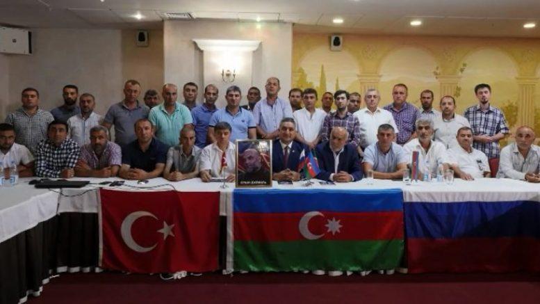 Азербайджанцы города Казань провели поминальный вечер в память Орхан Джемаль!