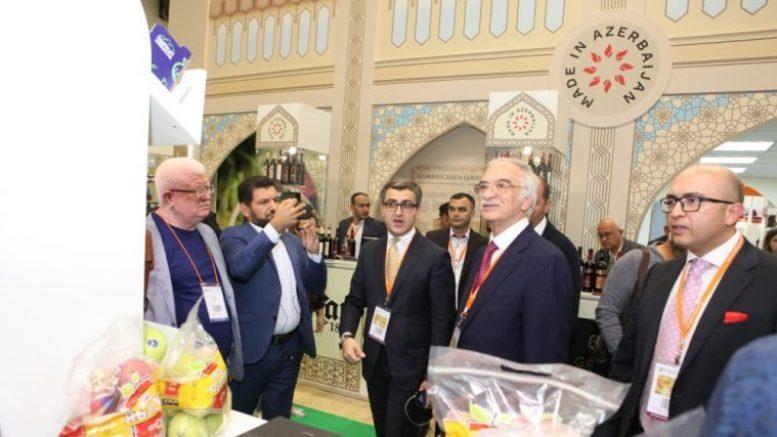 Азербайджанские продукты на московской выставке WORLDFOOD 2018