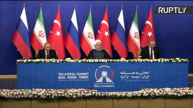 О чем Путин, Эрдоган и Рухани договорились в Тегеране?