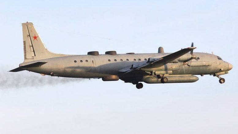 Обсуждение сбитого российского самолета ИЛ-20 на канале НТВ