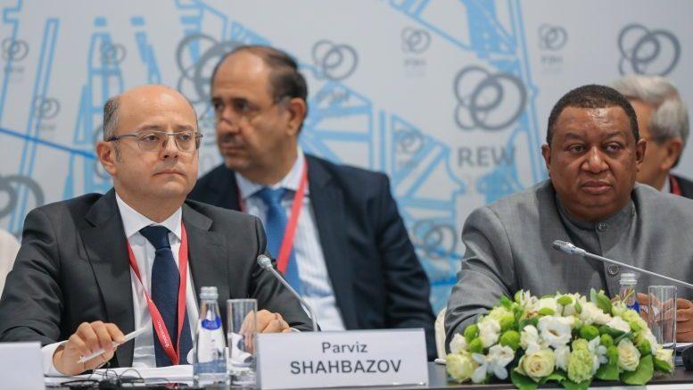 Российская Энергетическая Неделя-2018 с участием министра энергетики Азербайджана  Парвиза Шахбазова