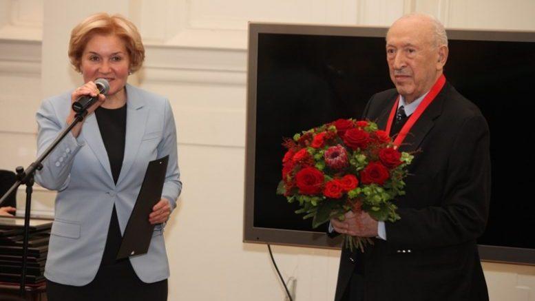 Торжество по случаю 90-летия Таира Салахова прошло в Российской академии художеств