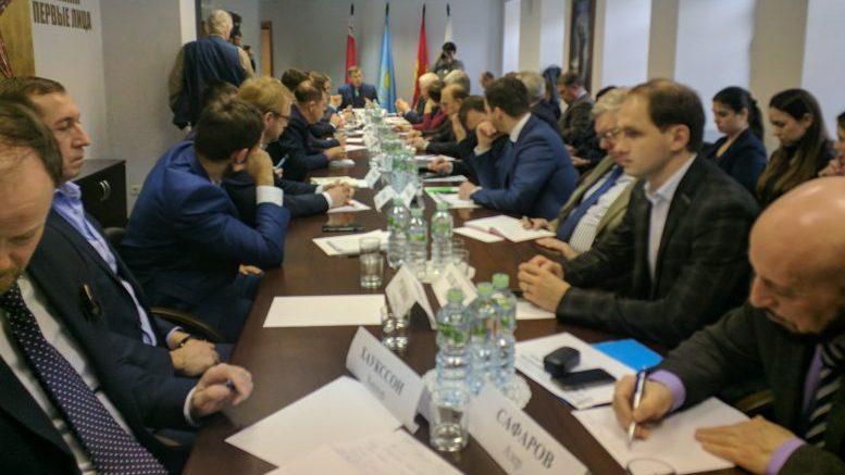 В Москве состоялся круглый стол на тему «Геополитическая ось Москва – Баку – Анкара»