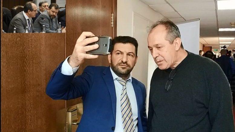 Предлагающий бомбить Баку Владимир Евсеев пришёл без приглашения и убежал с позором!