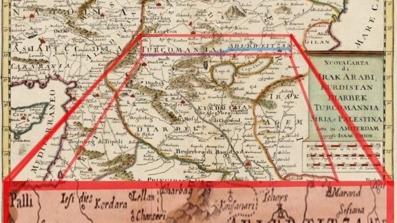 АЗЕРБАЙДЖАН В КАРТАХ 18 И 19 в. Эривань историческая территория Азербайджана