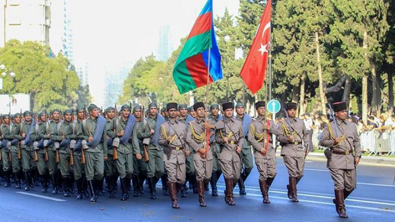 Турция и Азербайджан поздравили друг друга по случаю 102-й годовщины освобождения Баку от дашнаков!