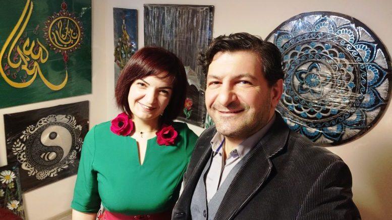 Aйтен Алиева с искусством гвоздей «Стринг-Арт» в гостях у МИСРА ТВ