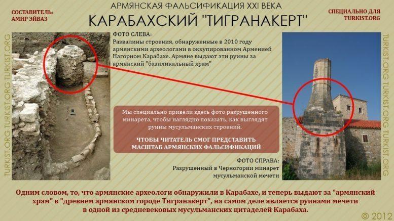 ИСМАИЛЬБЕЙ или «Тигранакерт»? Армянские лже-историки продолжают фальсифицировать историю Карабаха