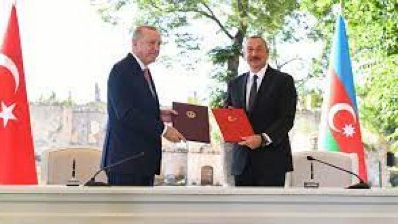 Президенты Турции и Азербайджана  подписали историческую декларацию в городе ШУША!