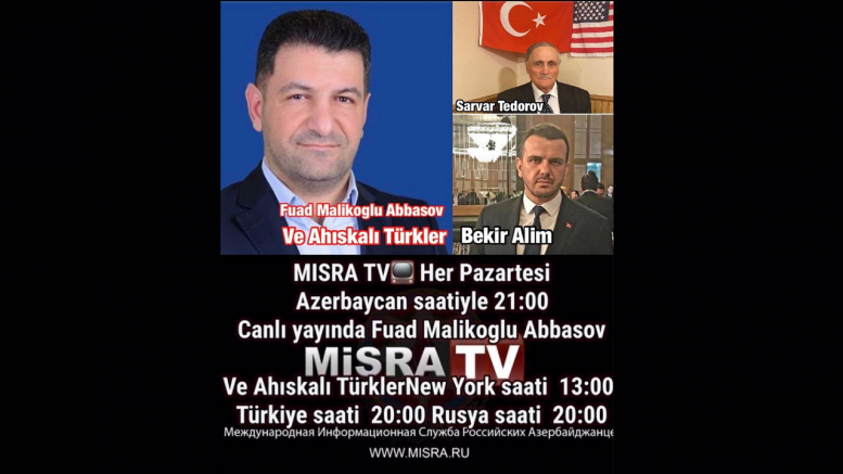 Akdeniz Ahıskalı Türkler Birliği Derneği (AKATÜB) ile Vatana dönüş ve diğer gündem konuları